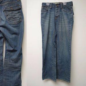 Gap Jeans . medium dark wash denim jeans